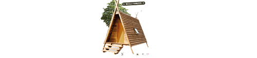 Aspect Cabane Source Camping Provence