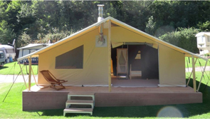 Lodge Ruisseau Camping Suze Luxe Natur