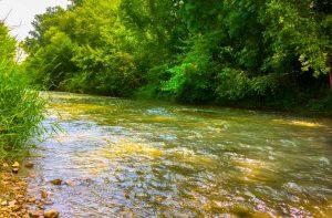 camping proche rivière drome