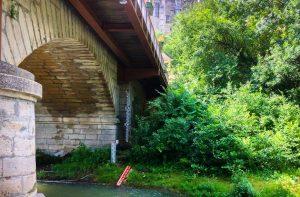 pont près camping Suze