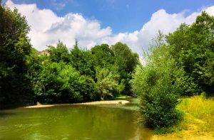 rivière près camping Suze