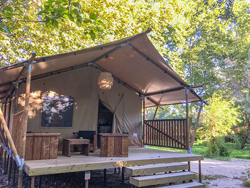 Lodge Jasmin Camping Suze Luxe Nature