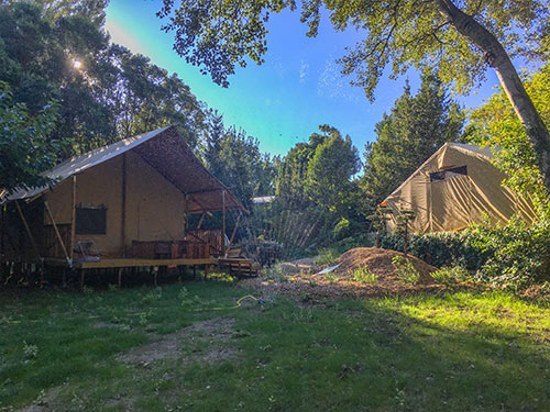 Lodge Naturel Camping Suze Luxe Nature