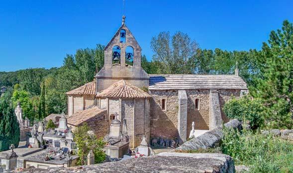 Barronie Provençale in der Nähe des Provence-Campingplatzes